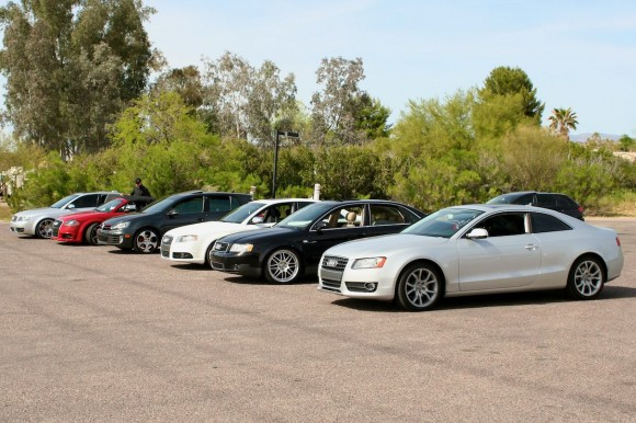 A Group of Audis