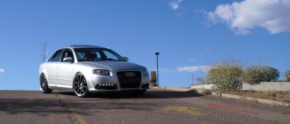 B7 Audi A4 Silver Front