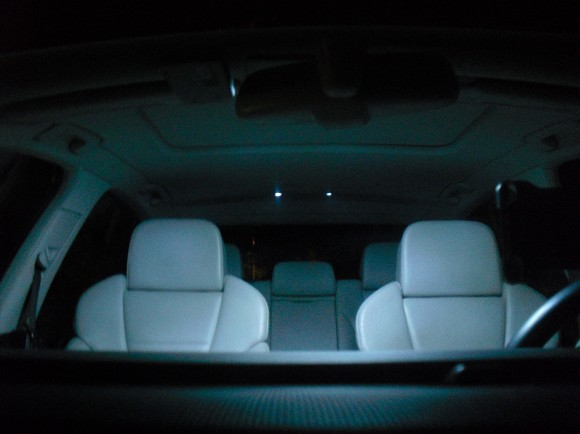 LED Interior Lights on my Audi A4