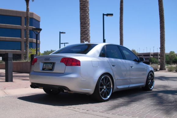 My B7 Audi A4 with Carbon Fiber Rear Valence