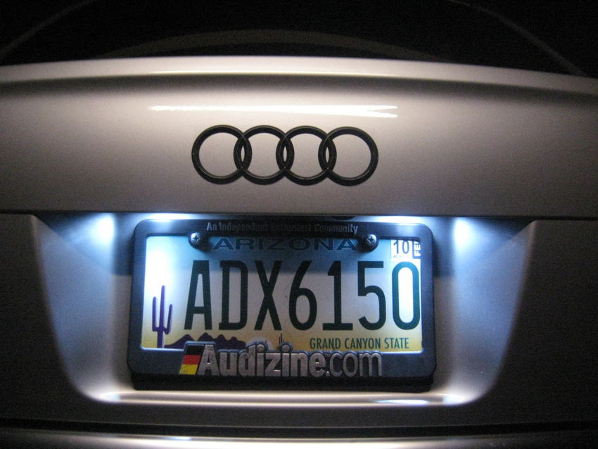 LED License Plate Bulbs