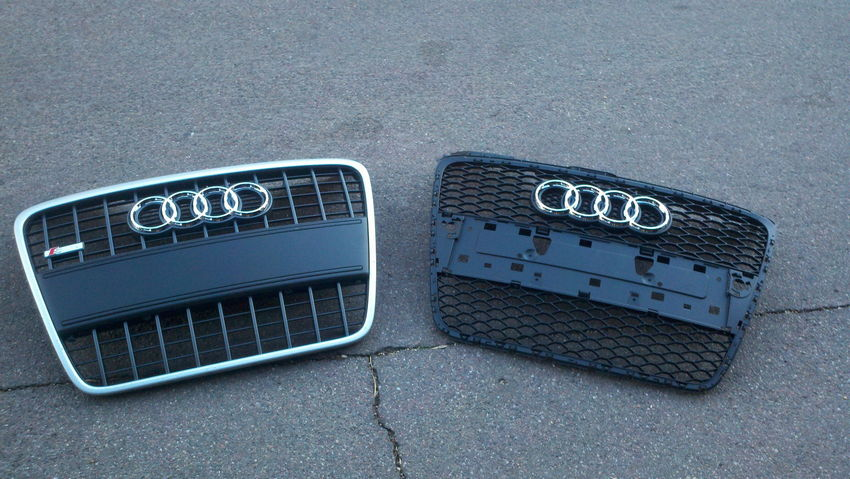Audi S-Line and RS4 Grilles