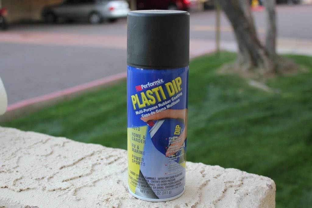 plasti dip application tips for spray cans quick diy applications i. Black Bedroom Furniture Sets. Home Design Ideas