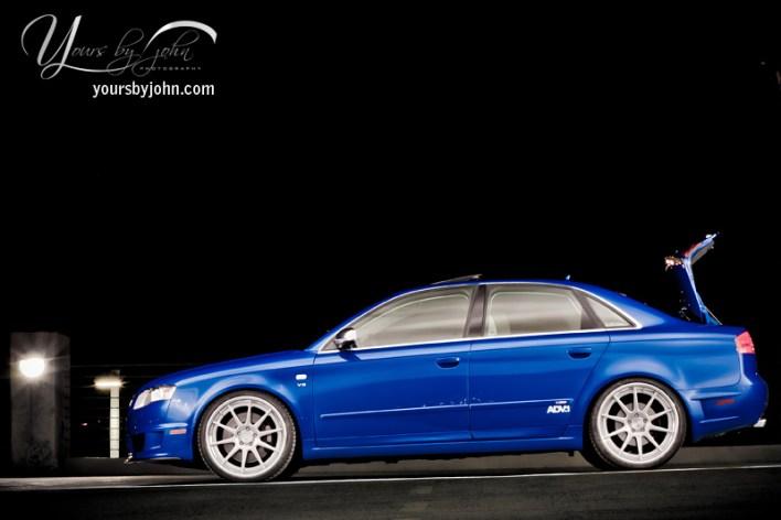 B7 S4 DTM Sprint Blue