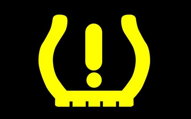 TPMS Warning Light from an Audi S4