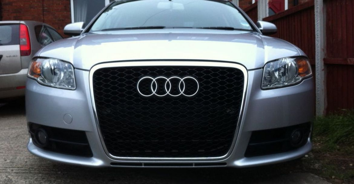 How to fit an RS6 Grille on a B7 A4, S4 or RS4 (All Mesh ...