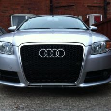 How to fit an RS6 Grille on a B7 A4, S4 or RS4 (All Mesh – No Filler Plate)
