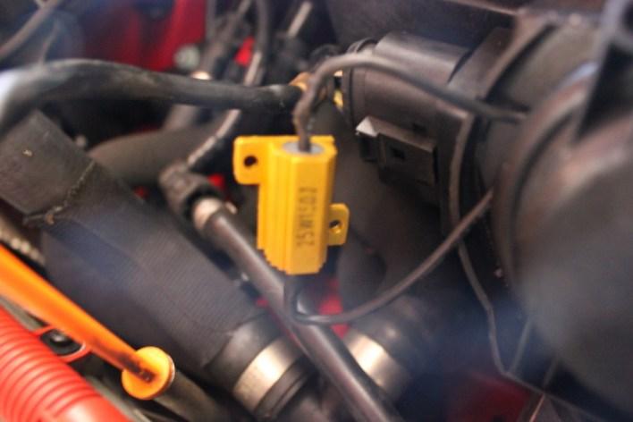 Resistor for LED DRLs