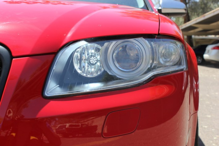 LED DRLs in B7 Headlights