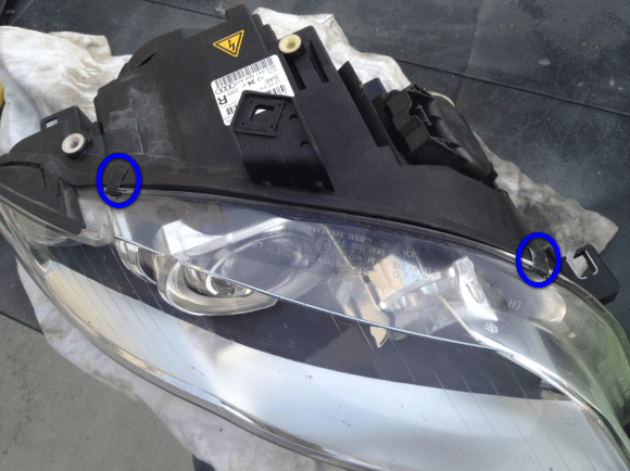 Metal Clips for Headlight