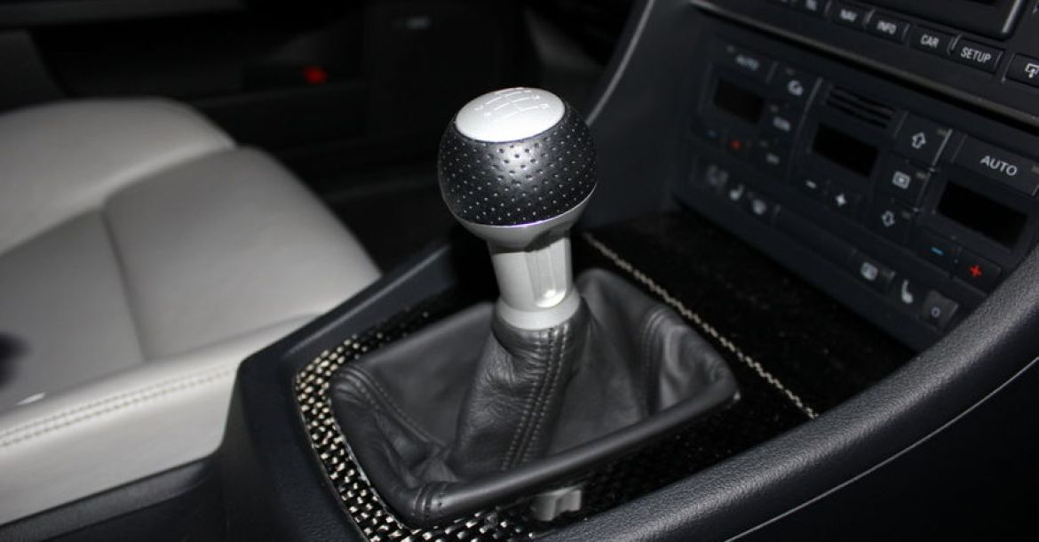 How To Change The Shift Knob On A BB Audi ASRS Nicks - Audi car gear