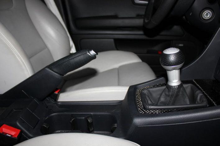 RS4 Shift Knob and E-Brake Handle