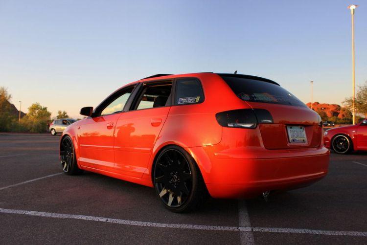 Josh's Candy Orange 2006 Audi A3 'DAS AUDI' – Nick's Car Blog