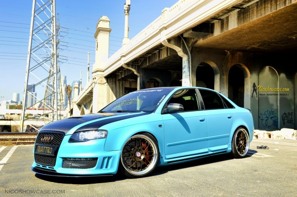 Randy's B7 A4 in Matte Turquoise