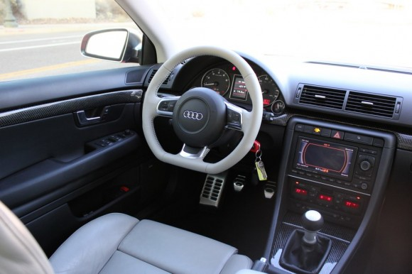 Audi Flat Bottom Wheel