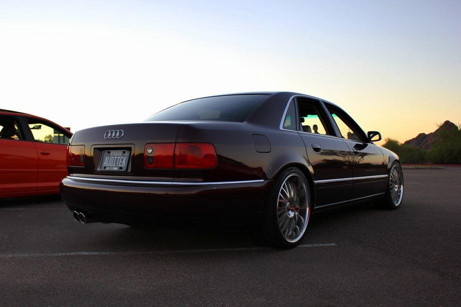 Ben's Andora Pearl 2002 Audi A8 (D2) – Nick's Car Blog
