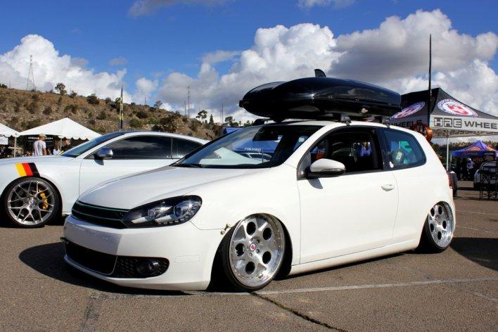 VW GTI on HREs