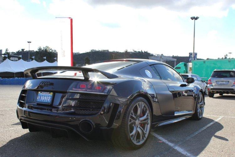 Black R8 GT