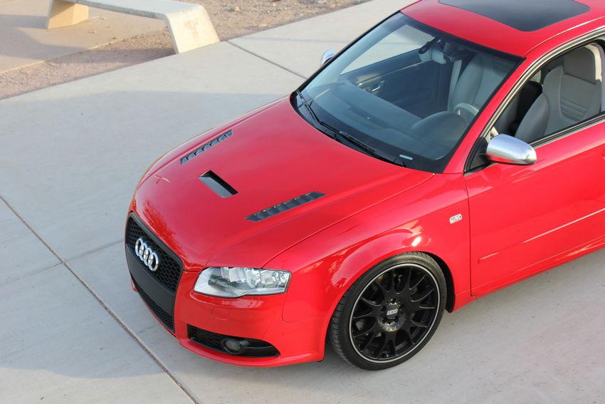 Audi S4 - Carbon Fiber Hood