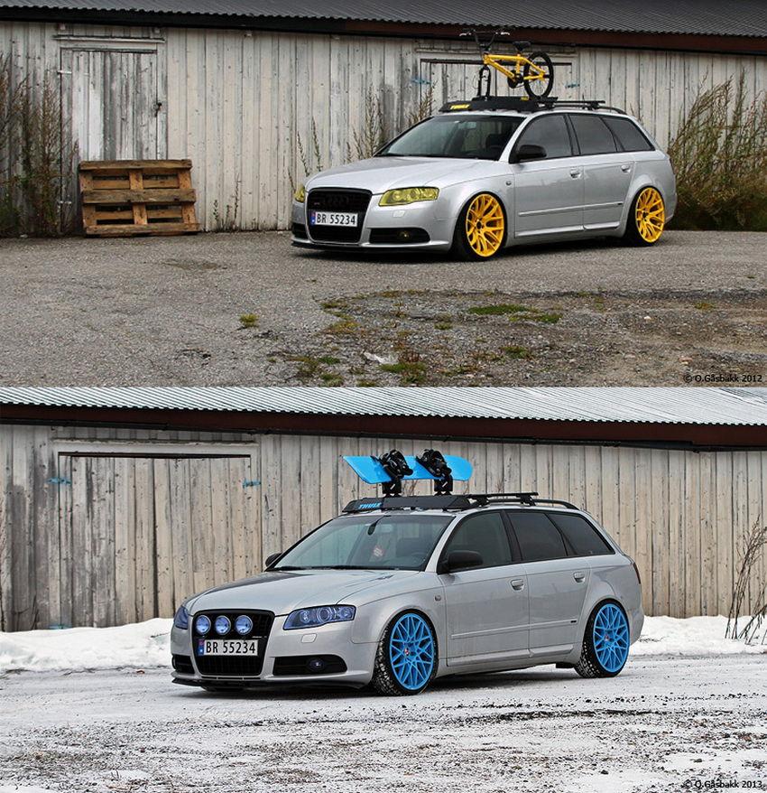 Ove's B7 Audi A4 Avant In Norway