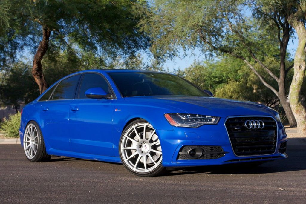 Nogaro Blue A6 on HREs
