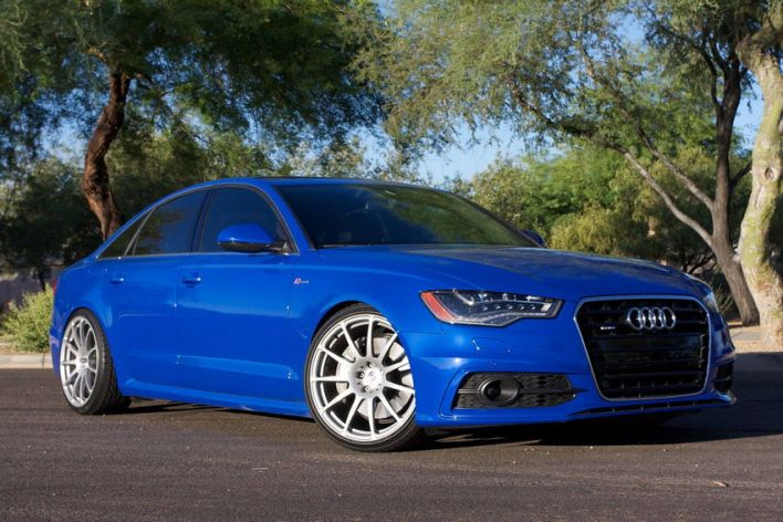 Nogaro Blue A6 on HREs