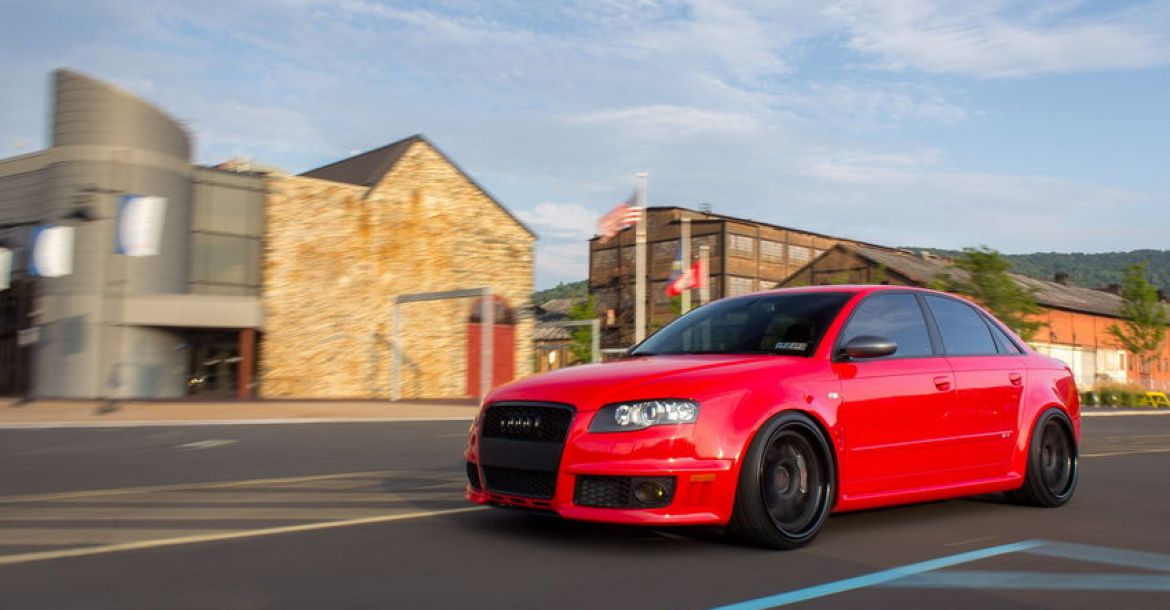 Audi S4 B5 German Style >> Flying Tomatoes Misano Red B7 Audi RS4 on ADV1s – Nick's Car Blog
