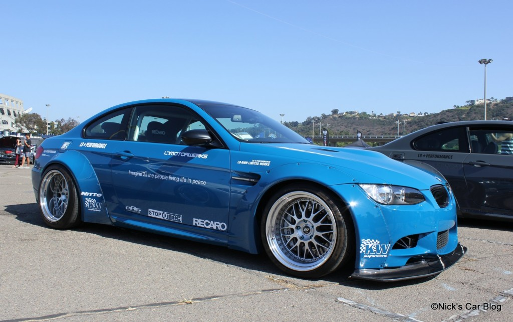 Liberty Walk BMW M3 Blue