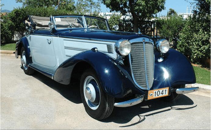 1937 Audi 225 Spezial Cabriolet