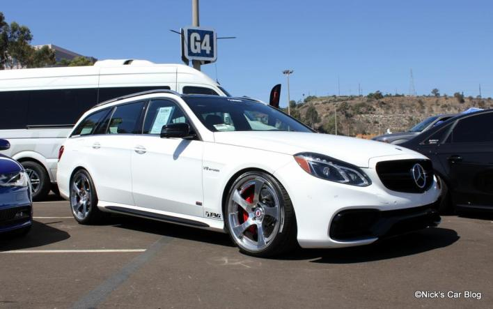 White E63 AMG Wagon