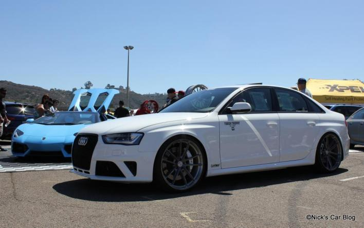 B8 RS4 Conversion on HRE Wheels