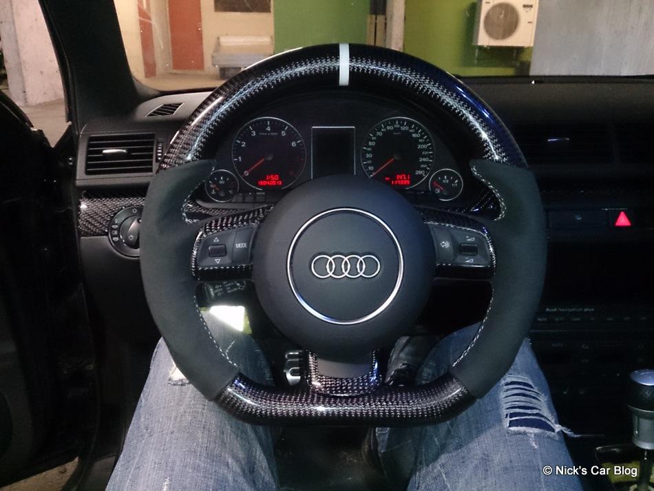 9 TTRS steering wheel