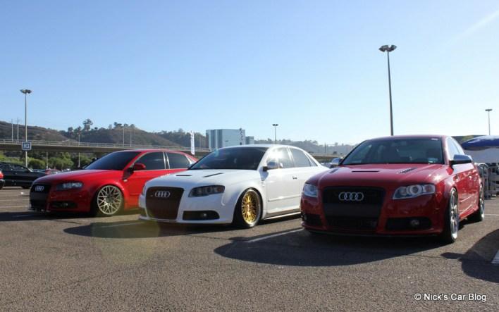 Audi A4 & S4 at SoCal Euro