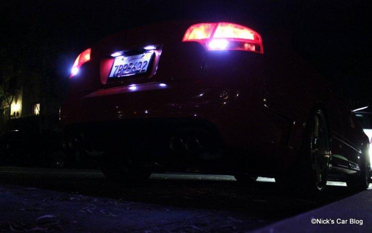 Reverse LEDs B7 Audi
