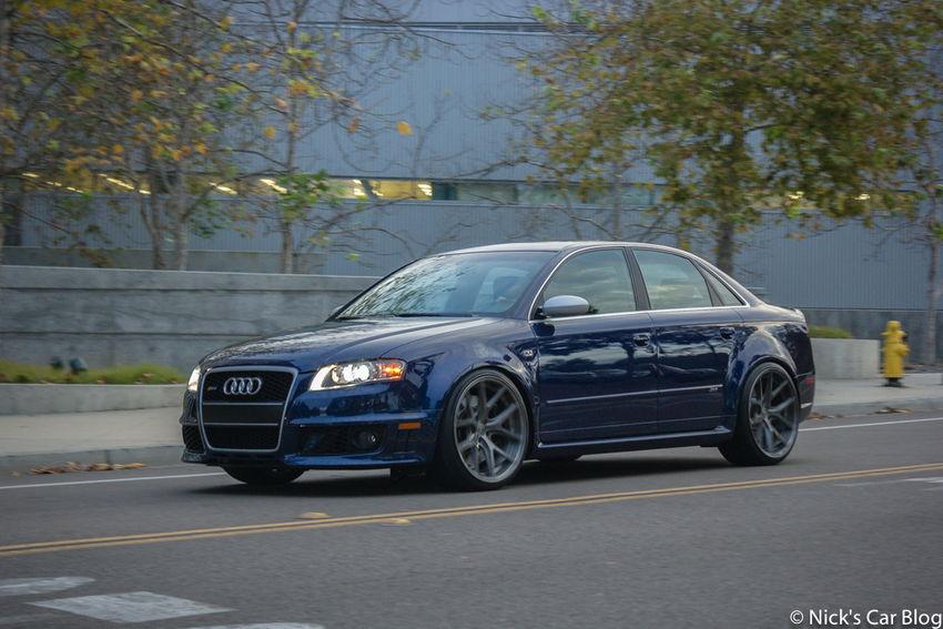 Moyzes Mugello Blue B7 Audi Rs4 Nick S Car Blog