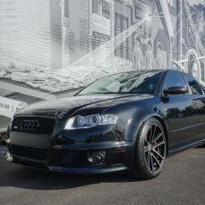 Ed's Phantom Black 2007 Audi RS4