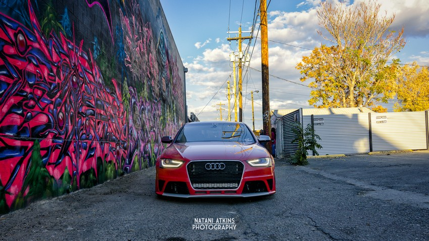 Joe's Bagged B8 5 S4 on AG F110s | Nick's Car Blog