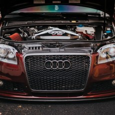 Joe's Bagged B7 with 2.7L Twin Turbo Swap