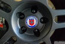 Photo of Audi Lug Cover Caps in Gloss Black
