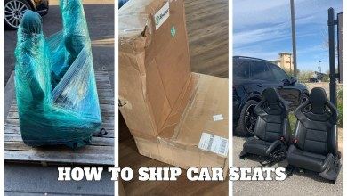Photo of How to Package and Ship Race / Car Seats Cheap & Safely