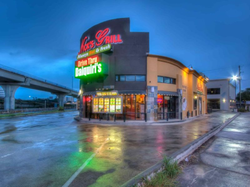 Nick's-Grill-Nightime-Entrance-2