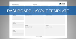 Draw your charts directly onto the Dashboard Layout Template.