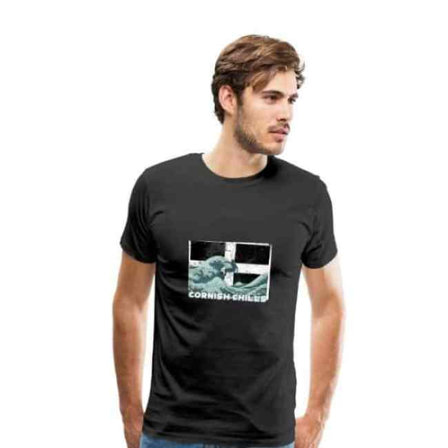 Cornish Chills - T-shirt für Cornwall Fans!