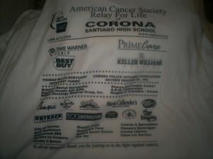 Corona Relay Shirts