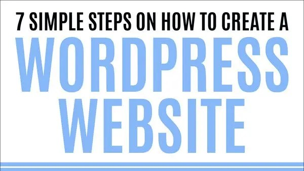 Book Review – 7 Simple Steps on How to Create a WordPress Website