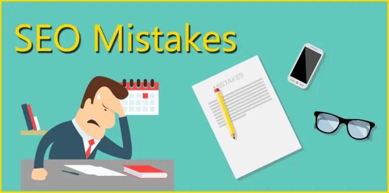 SEO Mistakes to Avoid in WordPress Website