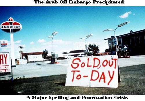 oil embargo