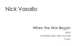 Pages from Nick Vasallo - When the War Began 1