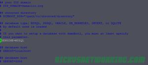 Editing kamctlrc