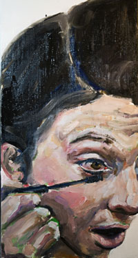 Transformation 3 Work In Progress, Oil Painting by Nick Ward